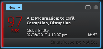 Figure 10: AI Engine Progression Alarm